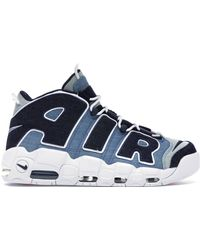 Nike Air More Uptempo 96 Qs S S Cj6125-100 Blue Size: 9.5