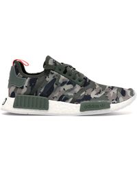 adidas Nmd R1 Green Camo for Men - Lyst