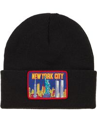 Supreme - Ny Patch Beanie - Lyst