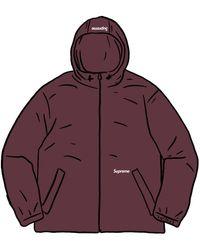 Supreme Reflective Zip Hooded Jacket - パープル