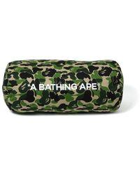 A Bathing Ape Abc Cushion - Green