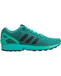 adidas - Zx Flux Techfit Cblack Shkmin Cblack - Lyst