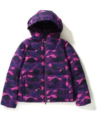 d20482099 Lyst - A Bathing Ape Padded And Down-blend Jacket in Black