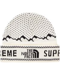 Supreme - The North Face Fold Beanie - Lyst
