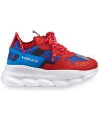 Versace Chain Reaction スニーカー - レッド