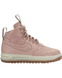 Nike - Lunar Force 1 Duckboot Particle Pink (w) - Lyst