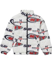 Supreme - Ny Reversible Puffy Jacket - Lyst