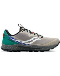 Saucony Peregrine 11 Astrotrail Pack Earth - Gray
