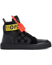 Off-White c/o Virgil Abloh Ssense Exclusive Black Industrial High-top Trainers