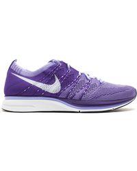 Nike - Flyknit Trainer+ Court Purple - Lyst