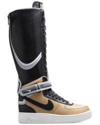 Nike Air Force 1 Boot Tisci Tan (w) - Black
