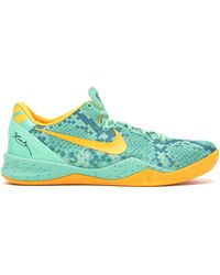 Nike - Kobe 8 System Green Glow Laser Orange - Lyst