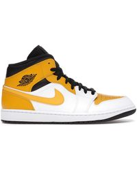 Nike - 1 Mid University Gold - Lyst