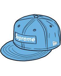 Supreme - Champions Box Logo New Era - Lyst