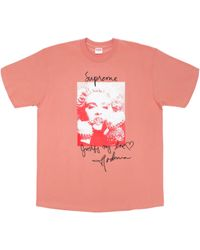 b7b686d2 Supreme Madonna Tee Navy in Blue for Men - Lyst