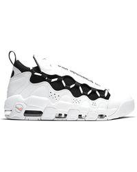 Nike - Air More Money White Black Coral Chalk - Lyst