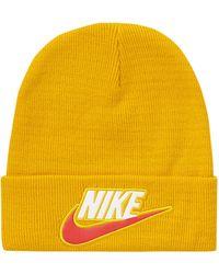 Supreme Nike Beanie - Yellow