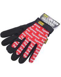 Supreme - Mechanix Wear Gloves Red - Lyst