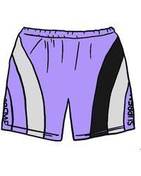 Supreme Milan Sweatshort - Purple