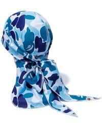 A Bathing Ape Abc Du-rag - Blue
