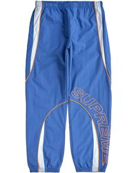Supreme Piping Track Pant (fw20) - Blue