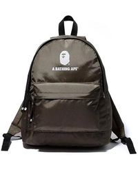 A Bathing Ape Day Pack - Green