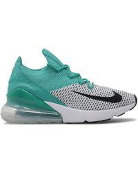 Nike Air Max 270 Flyknit Clear Emerald (w) - Green