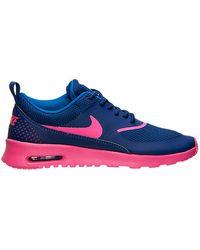 Nike Air Max Thea Deep Royal Blue Hyper Pink (w)