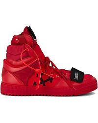 Off-White c/o Virgil Abloh Off Court High - Red