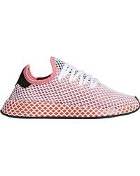 adidas Deerupt Chalk Pink Bold Orange (w) - ピンク