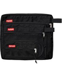 Supreme Mesh Organizer Bags - ブラック