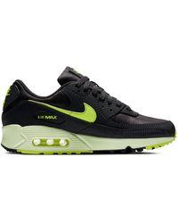 Nike Air Max 90 Dark Smoke Gray Volt (w)