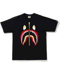 A Bathing Ape - Colors Shark T-shirt - Lyst