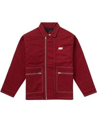Supreme - Nike Double Zip Quilted Work Jacket - Lyst