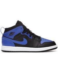 Nike 1 Mid Hyper Royal (ps) - Blue