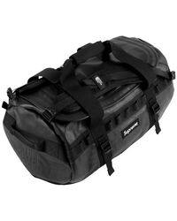 Supreme The North Face Leather Base Camp Duffel - Black