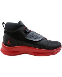 Nike Air Jordan Super Fly 5 Po Black/gym Red-gym Red 881571-002