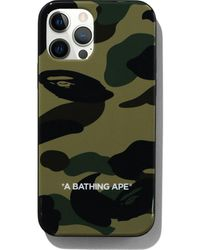 A Bathing Ape 1st Camo Iphone 12/12 Pro Case - Green
