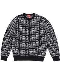 Supreme - Repeat Sweater - Lyst