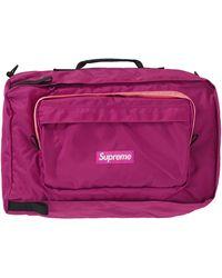 Supreme Duffel Bag 'fw 19' - Purple