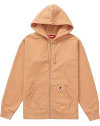 Supreme - Star Zip Up Sweatshirt - Lyst