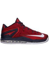 timeless design 0f563 36b38 Nike Lebron 12 Elite Team in Red for Men - Lyst