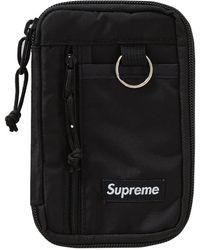 Supreme Small Zip Pouch - Black