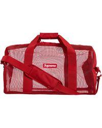 Supreme Big Duffle Bag (ss20) - Red