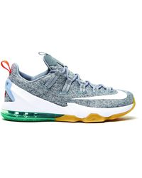 reputable site edf01 6e098 Nike Lebron 13 Low Usa in Blue for Men - Lyst