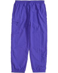 Supreme Nylon Trail Pant Purple