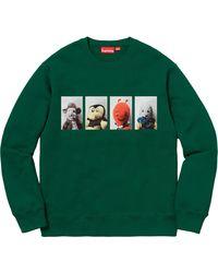 Supreme - Mike Kelley Ahhyouth! Crewneck Sweatshirt - Lyst