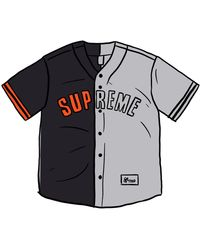 Supreme - Don't Hate Baseball Jersey - Lyst