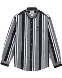 Supreme Nike Cotton Twill Shirt - ブラック