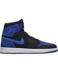 Nike 1 Retro High Flyknit Royal - Blue